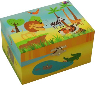 Jungle Friends Music Box