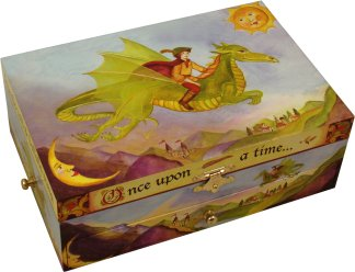 Dragon's World Musical Treasure Box