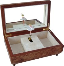 Beautiful Musical Jewellery Boxes