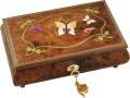 Butterfly Musical Jewellery Boxes