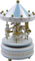 Beautiful Carousel Music Boxes & Collectables