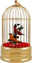 Tradtional Singing Bird Music Box Cages